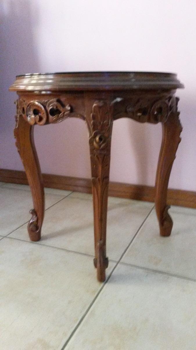 Muebles de madera juego de sala y comedor estilo barroco for Muebles para sala comedor