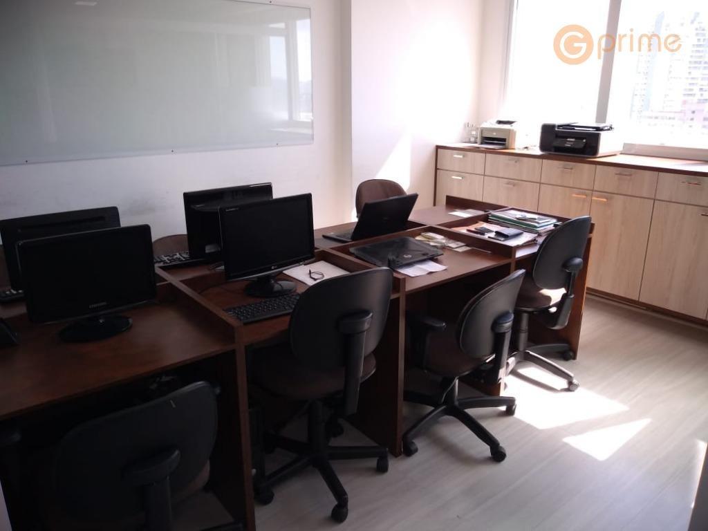 sala comercia mobiliada para locação -  42,90 m² e 1 vaga - sa0003