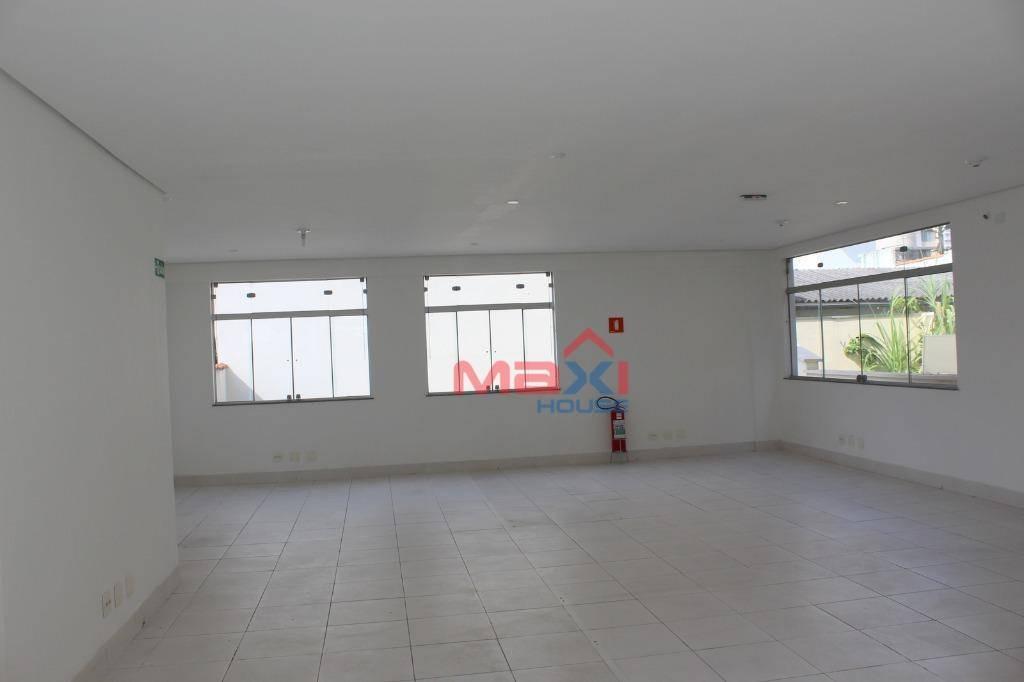 sala comercial 137 m², 1 banheiro, 1 vaga de garagem, vila yara, osasco - sa0039