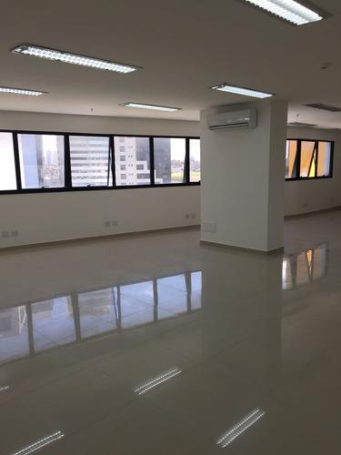 sala comercial - 139 m² - piso, luminárias, prime