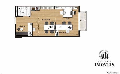 sala comercial 31m à venda  campo belo - sa1120