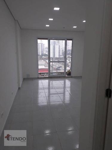 sala comercial 32 m² - centro - são bernardo do campo/sp - sa0037