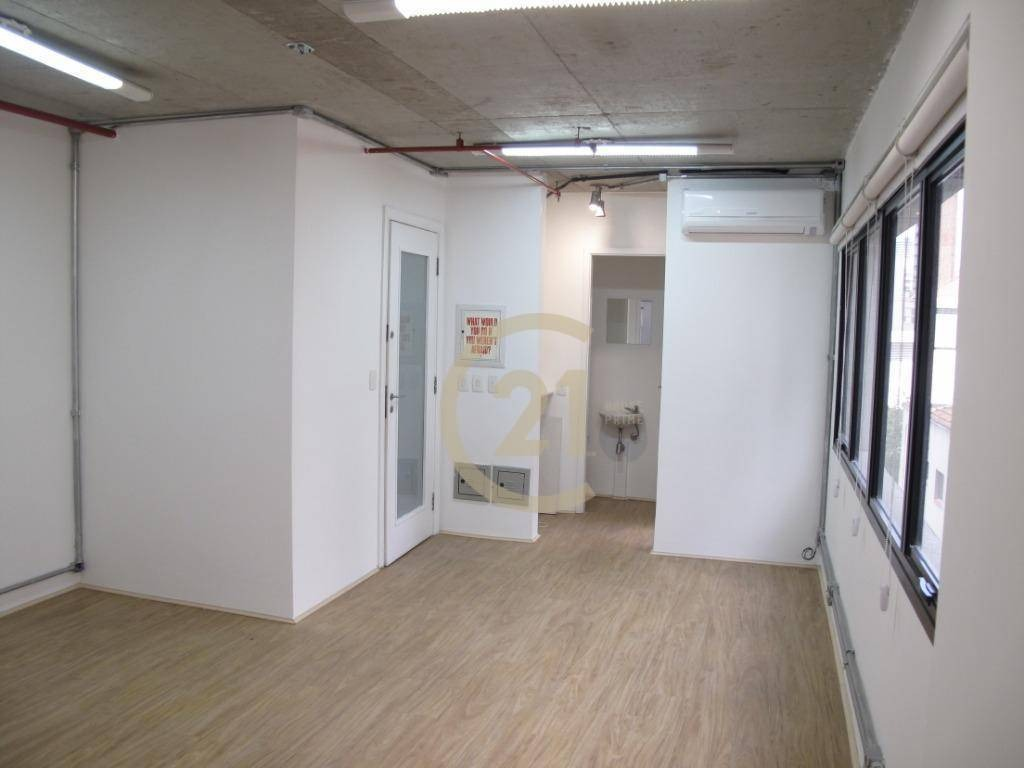 sala comercial 35m² ar condicionado copa 2 banheiros 1 vaga piso novo catraca eletrônica hall recepção pinheiros metrô fradique coutinho - cj3443