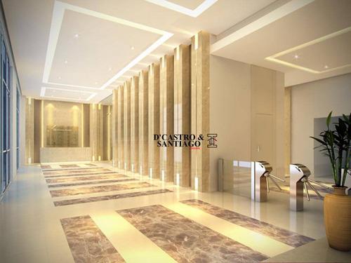 sala comercial 35m² à venda, mooca, são paulo. - sa0015