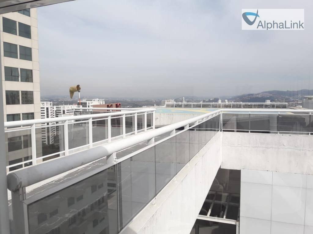 sala comercial 40 m² 1vg centro alphaville - sa0153