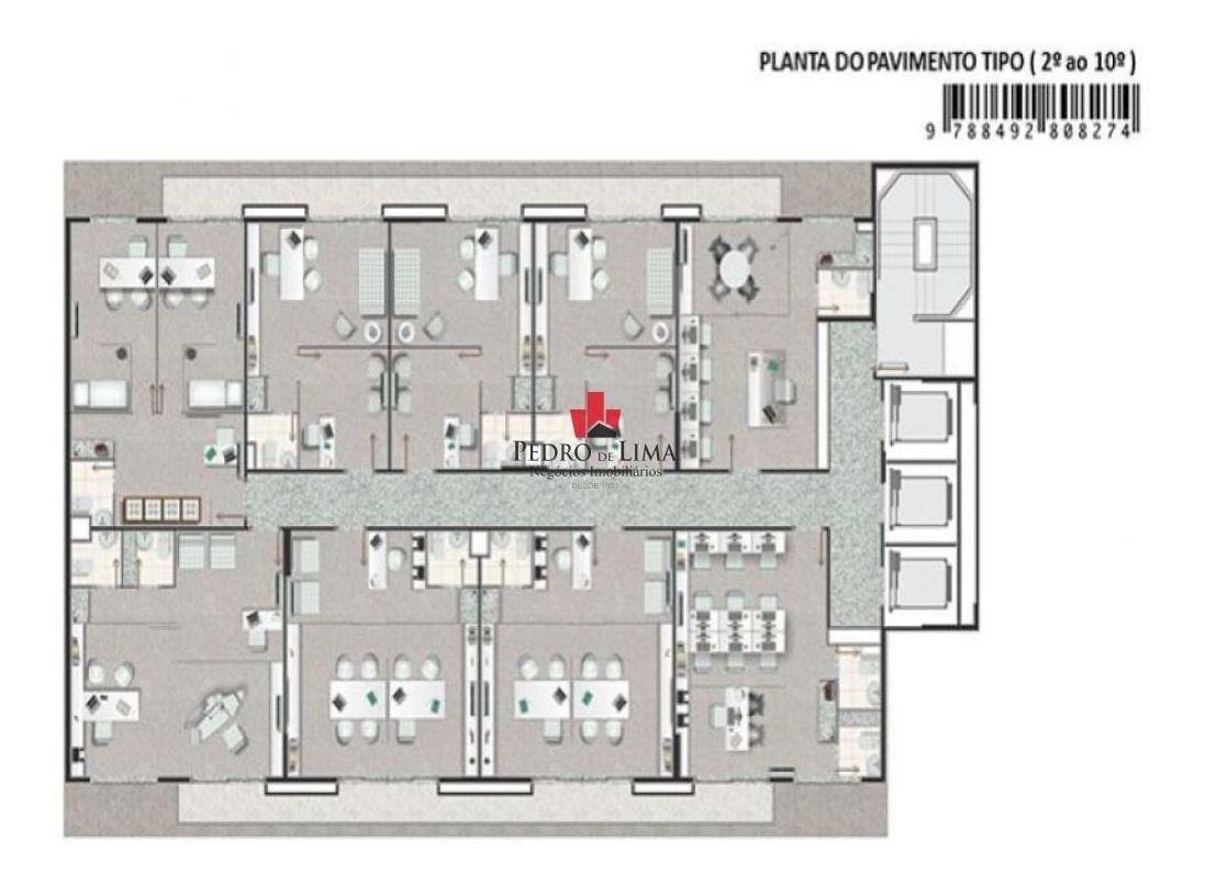 sala comercial 44 mts no tatuapé - tp9491