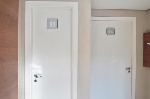 sala comercial 48,9 m² 1 vg 1 banheiro alto tgráfego - sa0263