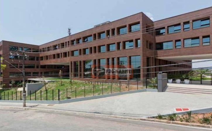 sala comercial - 48m²- granja viana - cond. prime office - sa0008