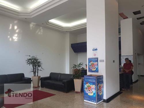 sala comercial 61 m² - centro - são bernardo do campo/sp - sa0038