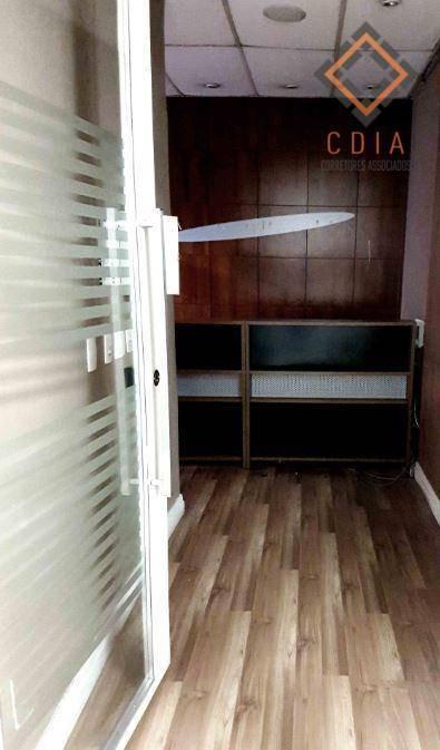sala comercial, 92 m², recepção, produção, reunião, wc,s, copa pacote r$ 3.745,00 - sa0032