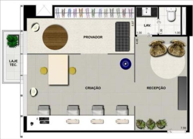 sala comercial alpha green barueri - sp - alphaville - 175