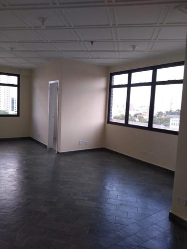 sala comercial av. dom pedro ii, 45m², 1 vaga, ar condiciona