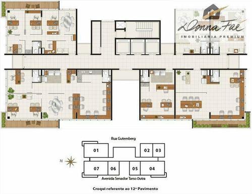 sala comercial - bairro petrópolis - sal00182