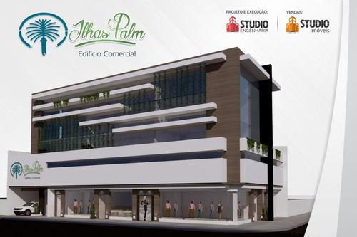 sala comercial centro - ed. ilhas palm