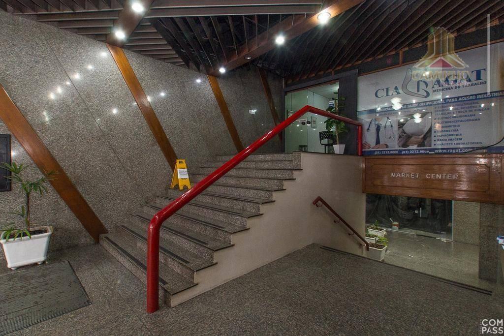 sala comercial com 134,14 m², na alberto bins, andar alto - sl0002