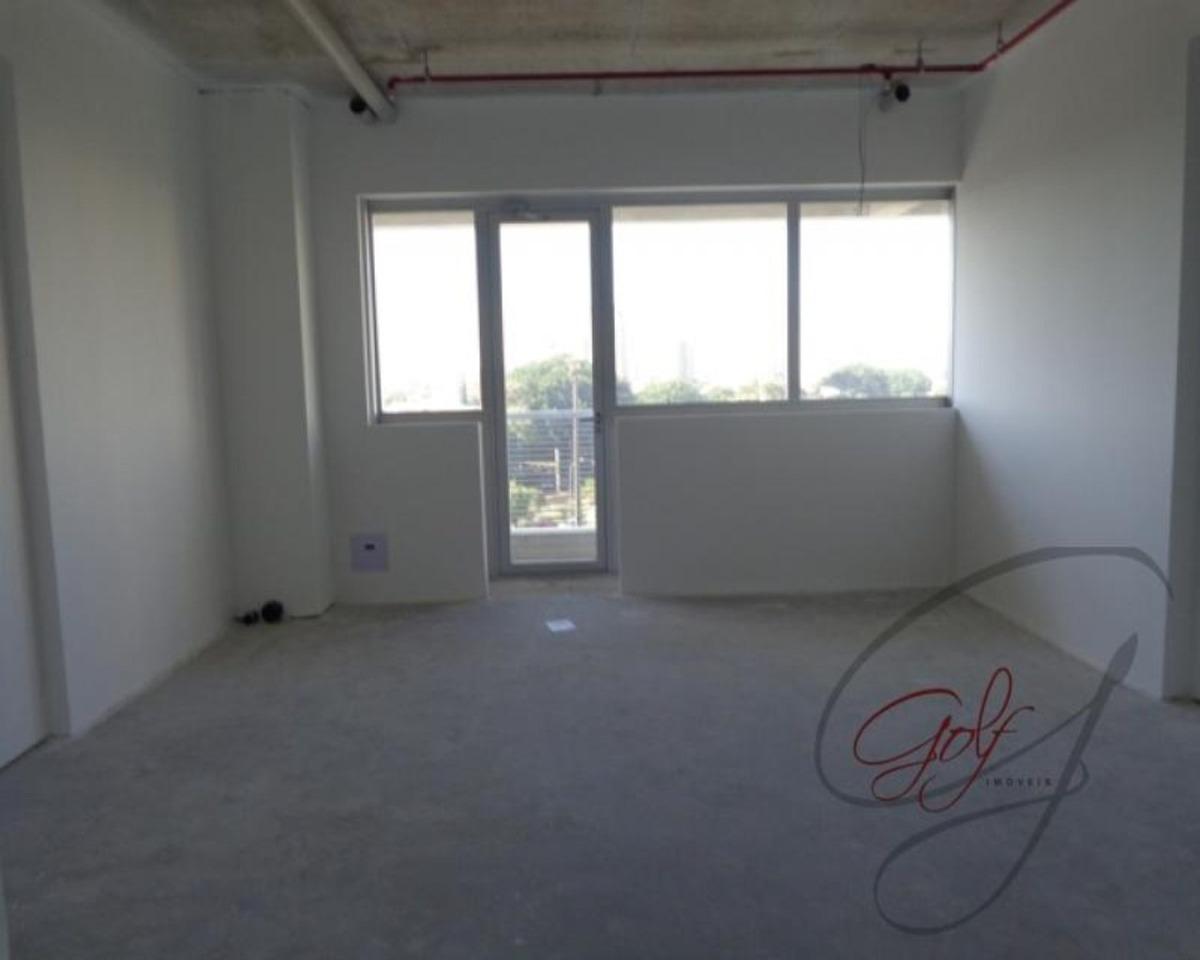 sala comercial com 40 m2. 1 banheiro, 1 vaga, varanda, piso rebaixado, próximo a shoppings, estação osasco cptm, av. maria campos - 2854 - 34657205