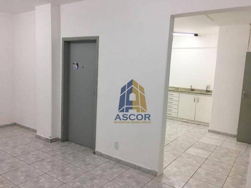 sala comercial com 51m² , no coração de florianópolis, - sa0239