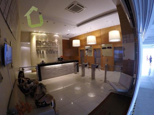sala comercial com banheiro interno no centro de nova iguaçu