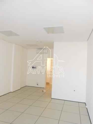 sala comercial com piso elevado, ar condicionado e persiana - sa00093