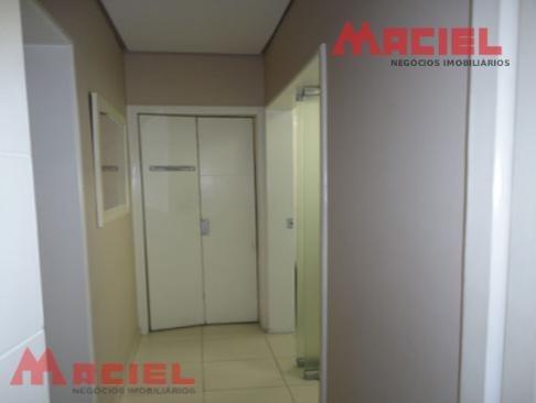 sala comercial - com recepção - 4 salas