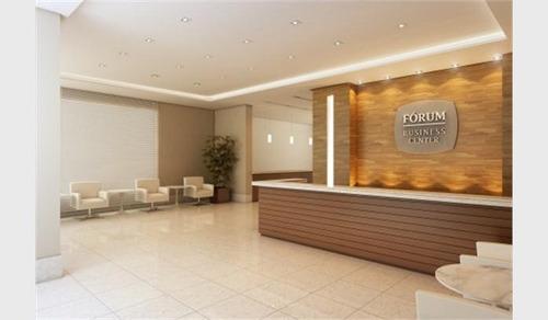 sala comercial, condomínio fórum business center, 29m2 - sa0032