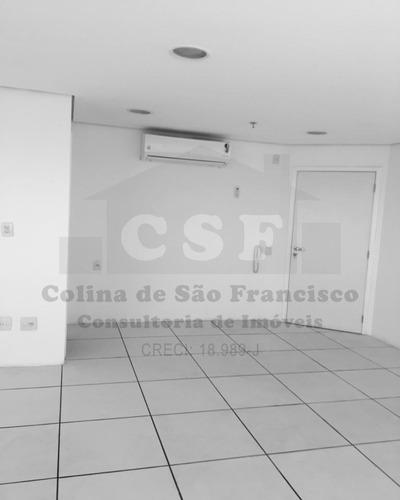 sala comercial de 48m²  1 banheiro 1 vaga vila yara - sl00497 - 3300023