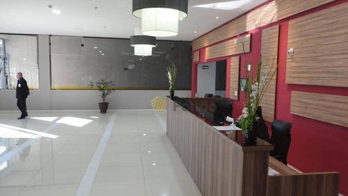 sala comercial edifício the office brokfield à venda, santa paula, são caetano do sul. - sa0267