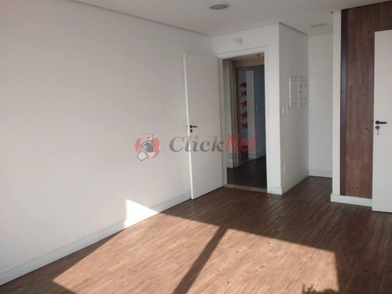 sala comercial em condomínio com 146,50 m2 de área útil, 4 wc´s, 4 vagas no bairro paraíso, santo andré. - 3947
