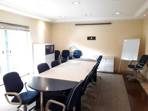 sala comercial em condomínio para locação no bairro cidade jardim, 1 vaga, 13,40 m - 257064