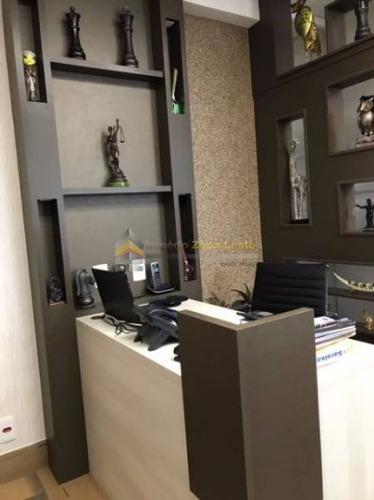 sala comercial em condomínio para locação no bairro vila gomes cardim, 0 dorm, 0 suíte, 0 vagas, 34 m - 2548