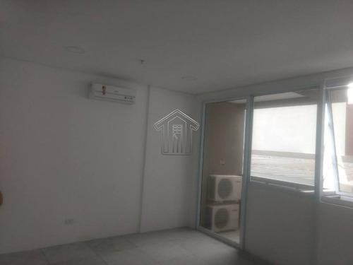 sala comercial em condomínio para locação no bairro vila homero thon. ao lado do shopping atrium - 10453gi