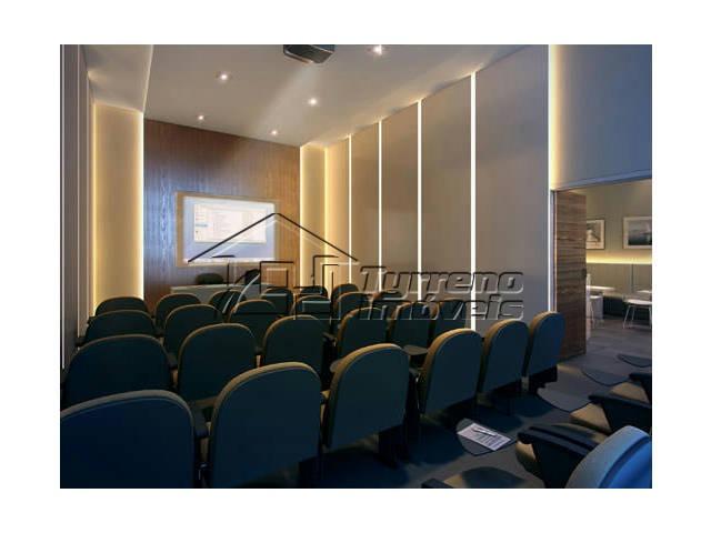 sala comercial em edifício de alto padrão - jd. aquarius
