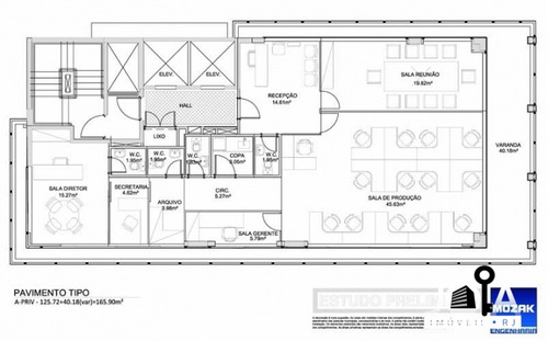 sala comercial exclusivity business center - ipanema - 97
