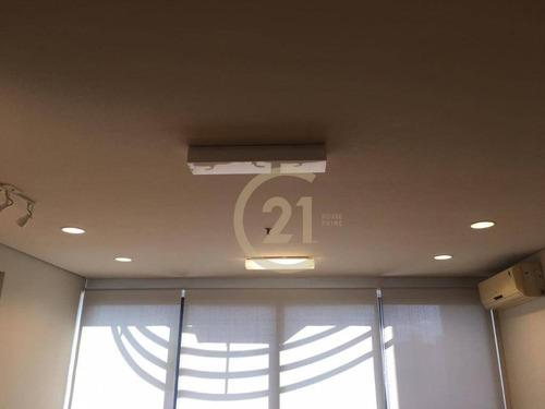 sala comercial locação 36m² pinheiros copa 1 banheiro 1 vaga edifício com catraca eletrônica cadeiras de rodas sala reunião estacionamento rotativo - cj3306