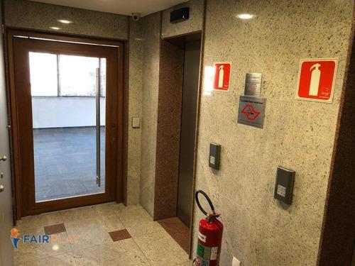 sala comercial locação perdizes 3 vagas 102m - sa0167