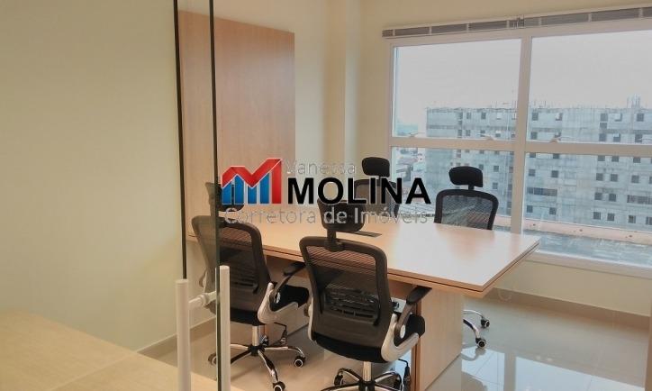 sala comercial mobiliada para venda - centro scs - ed helbor - 4099