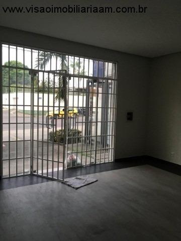 sala comercial  no adrianópolis  bem próximo da rua paraíba, perto do tjam, procuradoria geral, defensoria, juizado, tre e outros. medida: 45,12 são 0 - sa00116 - 33723522