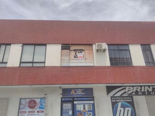 sala comercial no bairro salgado filho com +-22m² - ca549