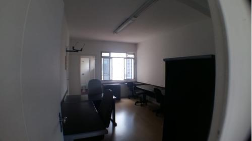 sala comercial no centro de sto andré, 37m², r$780