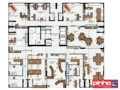 sala comercial no centro empresarial alm, bairro pagani, palhoça, sc - sa00013