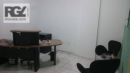 sala comercial no gonzaga em santos - sa0131