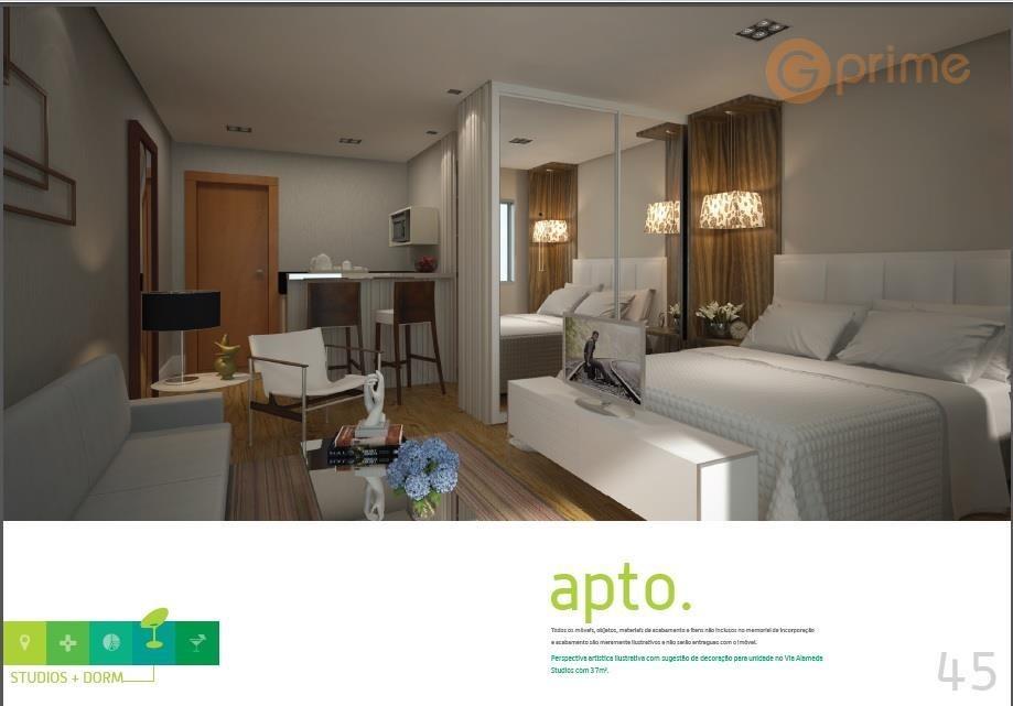 sala comercial nova e pronta - 37,62 m² e 1 vaga - via alameda guarulhos - sa0002