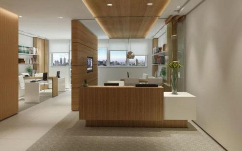 sala comercial nova no local excelente do morumbi, são paulo.