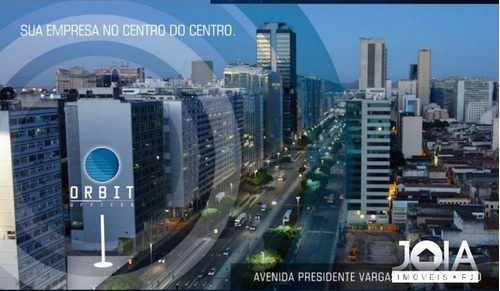 sala comercial orbit offices - presidente vargas - centro - 174