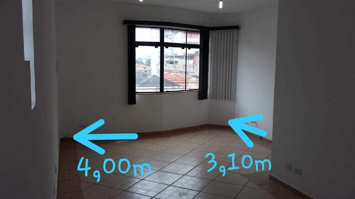 sala comercial para alugar, com 42m² na penha ref 1443