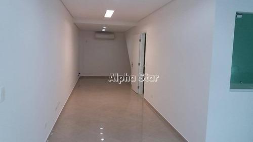 sala comercial para locação, alphaville comercial, barueri. - sa0261