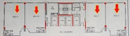 sala comercial para locação, alphaville industrial, barueri. - sa0021