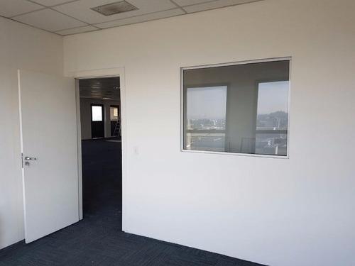 sala comercial para locação, alphaville industrial, barueri. - sa0026