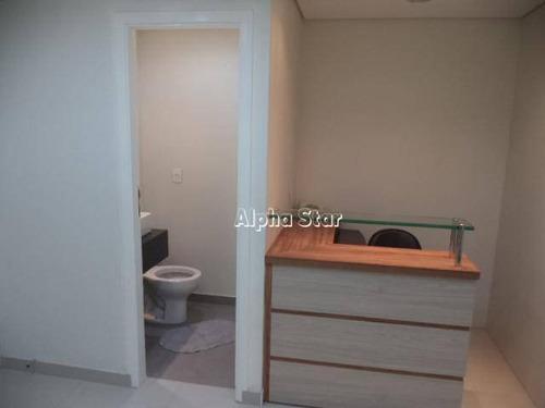 sala comercial para locação, alphaville industrial, barueri. - sa0051