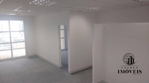 sala  comercial para locação, brooklin, são paulo. - sa0934